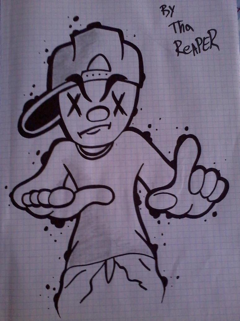 Картинки, рисунки для срисовки прикольные для мальчиков граффити