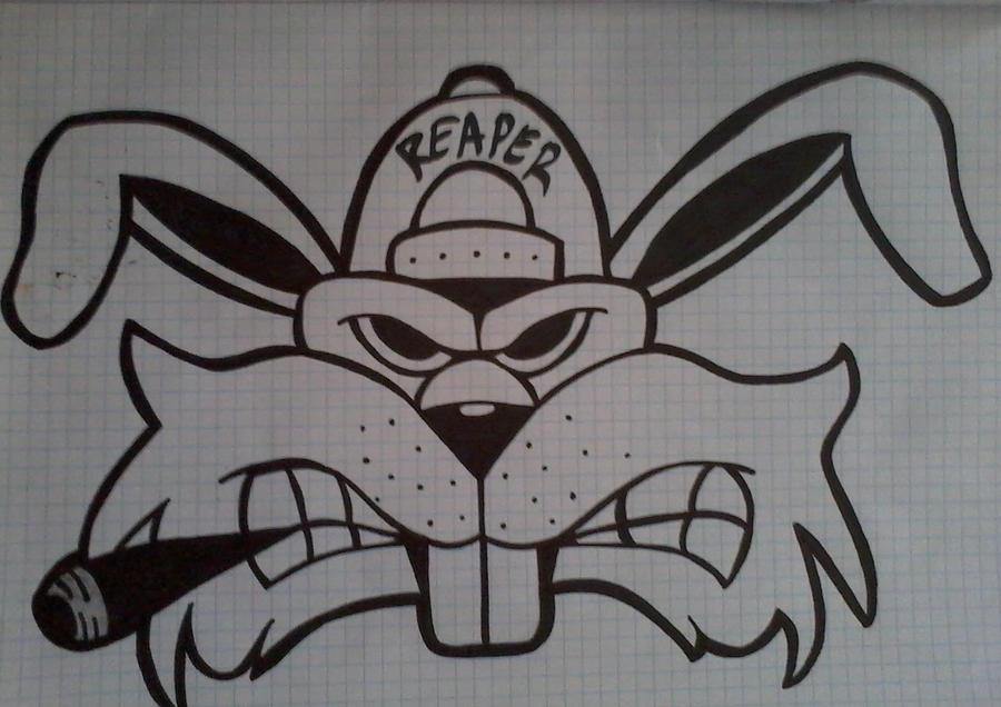 Smokin  Bunny  D by MA...