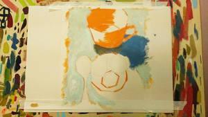 Traditional Painting Practice ( Progress 45% )