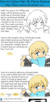 How to CG Chibi Hair- Tutorial by Flame-Essence