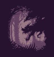 Spooky silhouette