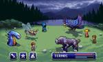 FF Battle screen