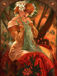 Sarah Bernhardt by GretaBug