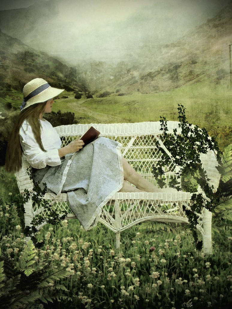 Just reading a book by MaureenOlder