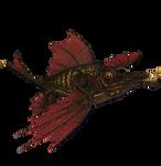 STOCK PNG  dragon fish