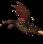 STOCK PNG  dragon fish 2