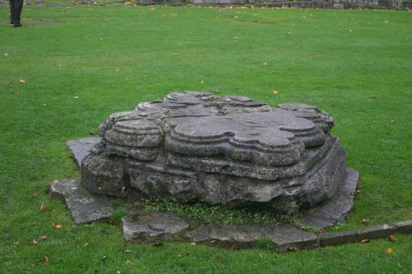 STOCK PHOTO stone pedestal 4 by MaureenOlder