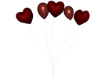 STOCK PNG red balloon 4