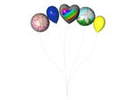 STOCK PNG multicolour balloon2