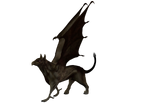 STOCK PNG lizard like gryphon3