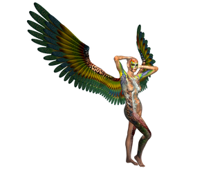 STOCK PNG angel of colour5 by MaureenOlder
