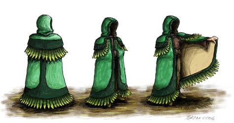Cloak design by bramster