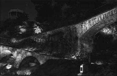 Hillside at Night by braynfreaz