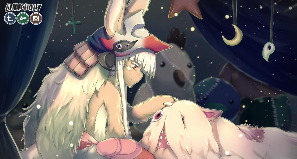 Nanachi and Mitty by lynncholy