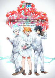 Norman, Emma, Ray (The Promised Neverland fanart