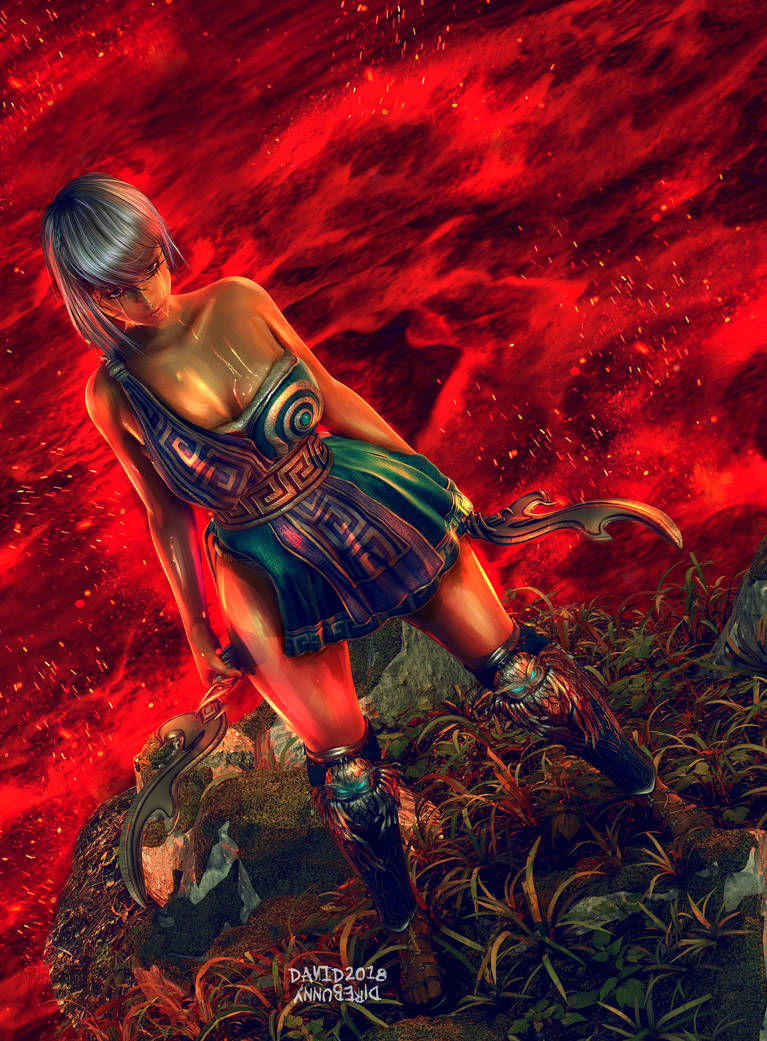 Pyrotechnic Chronomancy by direbunny on DeviantArt