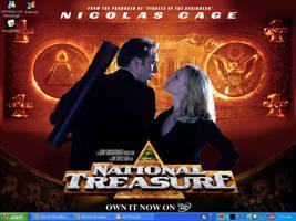 National Treasure DesktopX3 by powerpuffgirlsz