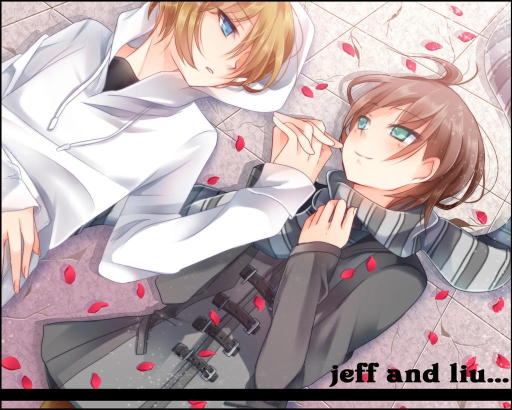 jeff and liu by gatanii69