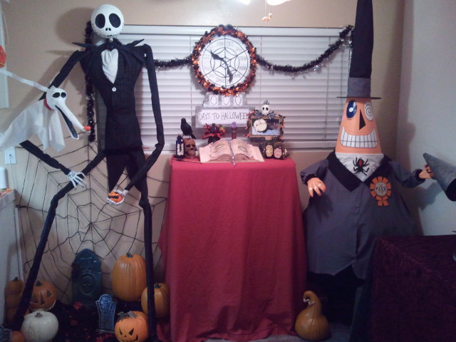 Nightmare Before Christmas props by kam3153 on DeviantArt