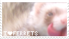 Ferret Stamp by rethetta