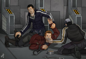 The best human pilot in the galaxy (chpt 2) by Carnath-gid
