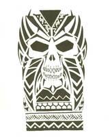 Maori Skull 01 by Mr-Disaster