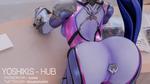 Blender Practice #3: Widow Booty by Hiroshi-Yoshiki