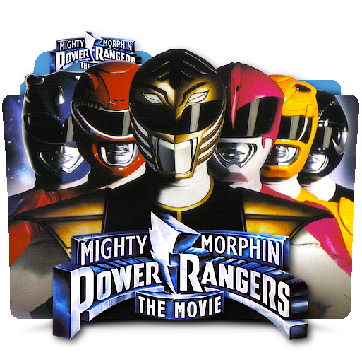 Mighty Morphin Power Rangers Wallpaper: Mighty Morphin Power Rangers Movie Folder Icon By Zenoasis
