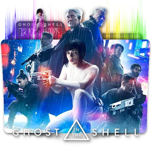 Ghost In The Shell V6 Movie Folder Icon By Zenoasis On Deviantart
