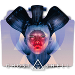 Ghost In The Shell movie folder icon v7