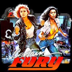 Certain Fury movie folder icon 1985