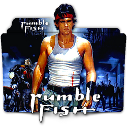 Rumble Fish movie folder icon by zenoasis