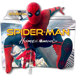 Spider-Man Homecoming movie folder icon v2