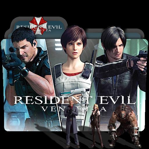 Resident Evil Vendetta Movie Folder Icon V2 By Zenoasis On Deviantart