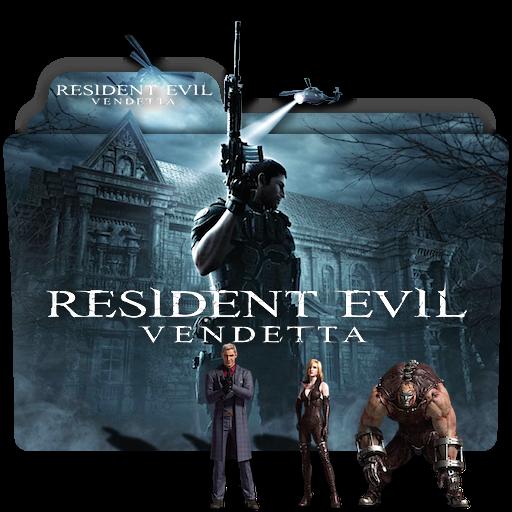 Resident Evil Vendetta Movie Folder Icon V3 By Zenoasis On Deviantart