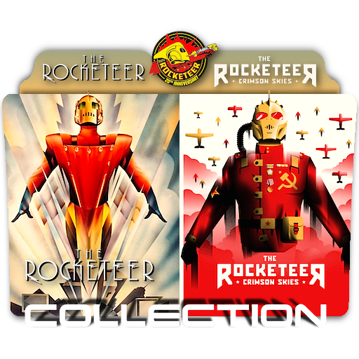 The Rocketeer Duology folder icon by zenoasis on DeviantArt