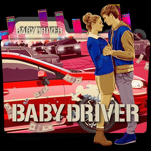 Baby Driver movie folder icon