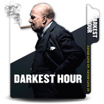 Darkest Hour translucent vertical movie folder