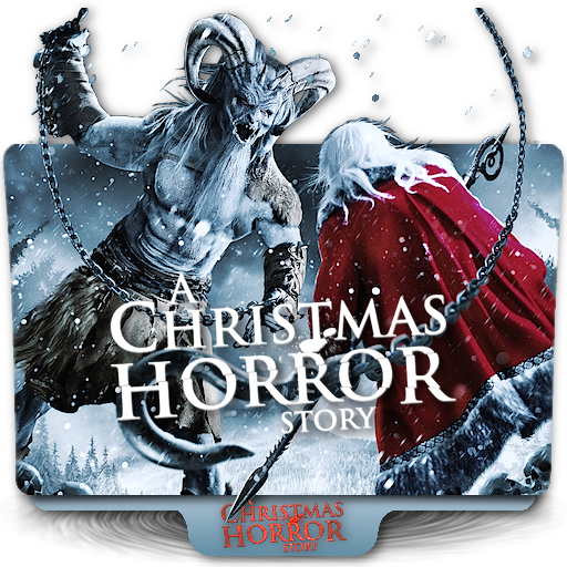 A Christmas Horror Story.A Christmas Horror Story Movie Folder Icon By Zenoasis On