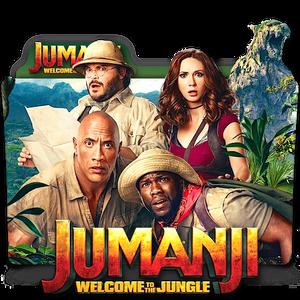 Jumanji Welcome To The Jungle movie folder icon v2