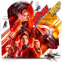 Ant-Man and The Wasp movie folder icon v1 by zenoasis