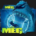 The Meg movie folder icon