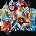 Aquaman movie folder icon