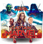 Captain Marvel movie folder icon v2