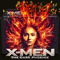 X-Men Dark Phoenix movie folder icon by zenoasis