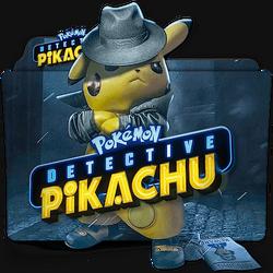 Pokemon Detective Pikachu movie folder icon v2