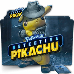 Pokemon Detective Pikachu movie folder icon v2