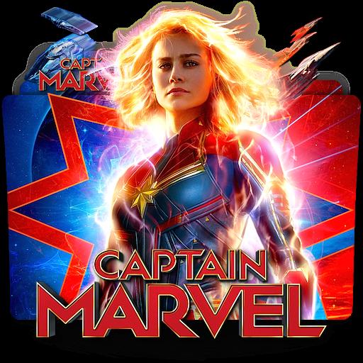 Captain Marvel movie folder icon v4 by zenoasis on DeviantArt