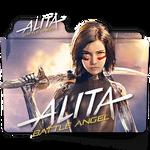 Alita Battle Angel movie folder icon v4 EN