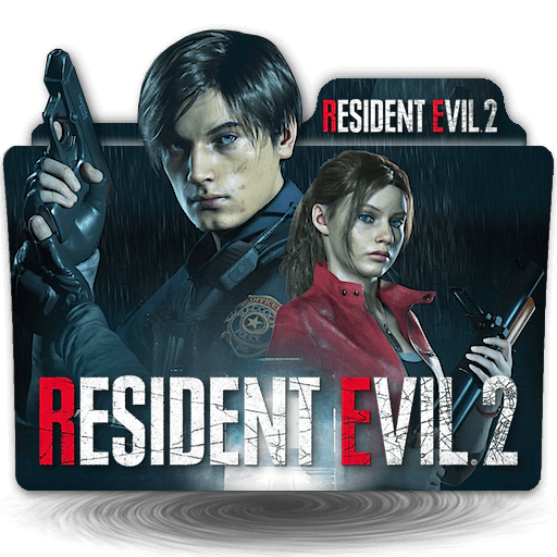 Resident Evil 2 Remake Game folder icon v2 by zenoasis on DeviantArt